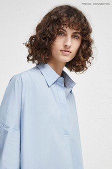 French Connection Light Blue Oversized Shirt