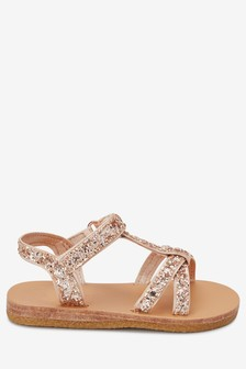 d41051ecf761 Glitter T-Bar Sandals (Younger)
