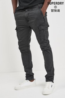 Superdry Black Cargo Trouser