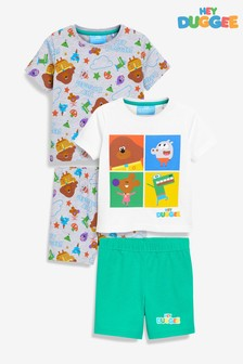 Hey Duggee Short Pyjamas Two Pack (9mths-6yrs)