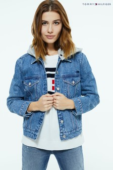 Tommy Hilfiger Hooded Denim Jacket