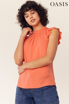 Oasis Red Pie Crust Shell Top