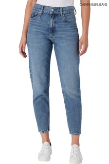 Calvin Klein Jeans Blue Mom Jeans