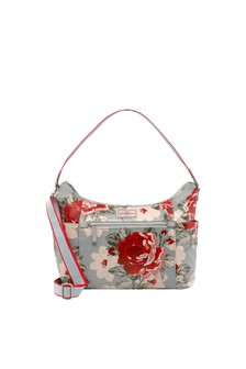 Cath Kidston® Blue Heywood New Rose Bloom Shoulder Bag