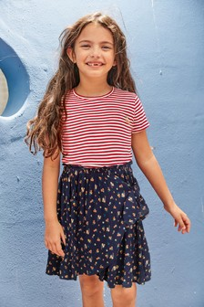 Stripe Floral Dress (3-16yrs)