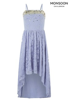 Monsoon Lilac Storm Lauren Lace Dress