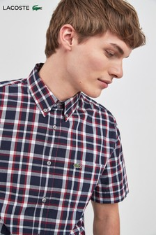 Lacoste® Small Check Short Sleeve Shirt