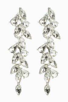 Crystal Effect Drop Earrings