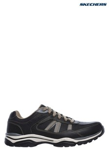 Skechers® Black Rovato Texon Shoe