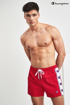 Champion Red Swim Short