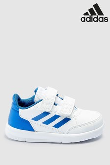 66b05b1fb3f028 adidas White Blue Altasport Infant