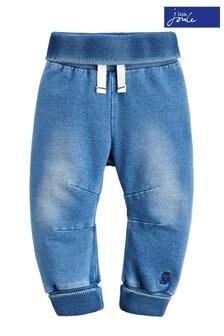 Joules Blue Hugo Denim Jersey Trouser