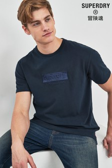 Superdry Navy Box Fit Tee