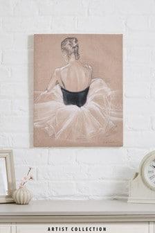 Artist Collection Ballet Study by Jennifer Paxton Parker