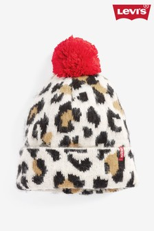 Levi's® Leopard Print Beanie Hat