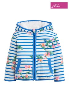 Joules White Cosette Reversible Jacket