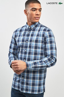 Lacoste® Check Blue Shirt