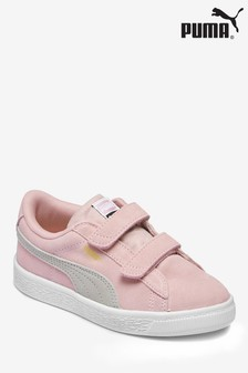Puma® Pink Suede Classic Youth Trainer