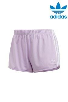 adidas Originals Lilac 3 Stripe Short