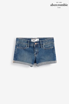 Abercrombie & Fitch Rinse Denim Shorts