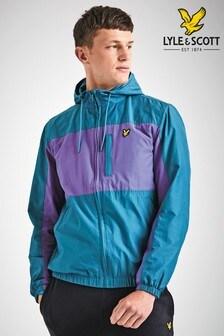 Lyle & Scott Purple/Teal Colourblock Jacket