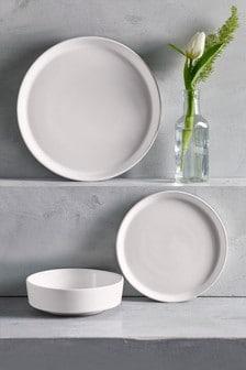 12 Piece Flat Profile Dinner Set
