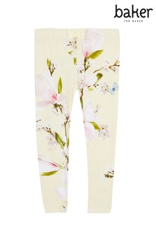 baker by Ted Baker Pale Yellow Print Harmony Legging