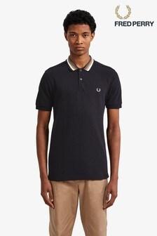 db5f6f6f71 Fred Perry Stripe Collar Pique Poloshirt