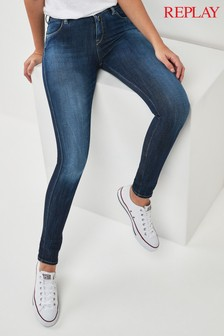 Ripped Next Uk Jeans Coloured amp; Womens Replay EqZpw1W0