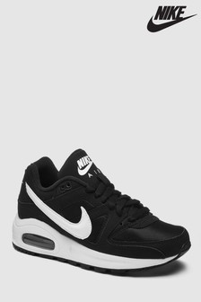 Nike Black/White Air Max Command Youth