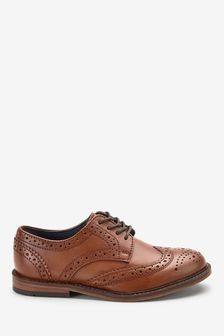 Boys Brown Shoes   Brown Casual