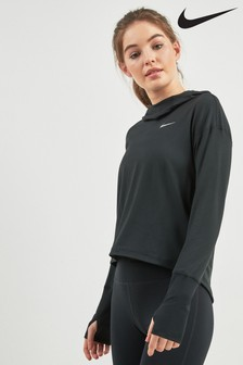 Nike Dri-FIT Black Running Hoody