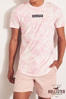 Hollister Pink Scrunch T-Shirt