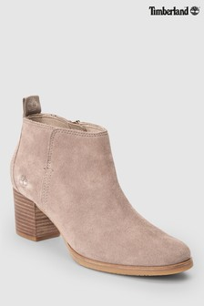 Timberland® Beige Suede Eleonor Street Ankle Boot