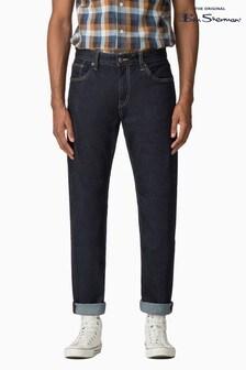 Ben Sherman Blue Straight Rinse Wash Jean