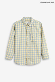 Abercrombie & Fitch White Preppy Shirt
