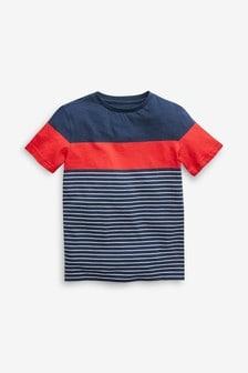 Stripe Textured T-Shirt (3-16yrs)