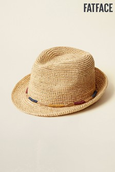 FatFace Natural Wrapped Band Trilby