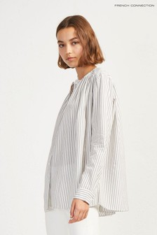 French Connection Grey Stripe Shirt