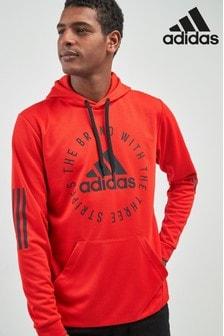 Sweat à capuche adidas Sport ID rouge