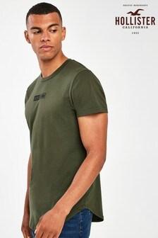 Hollister Khaki Scrunch T-Shirt