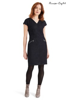 Phase Eight Dark Indigo Delmar Denim Dress