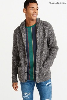 Abercrombie & Fitch Black Cosy Shawl Cardigan
