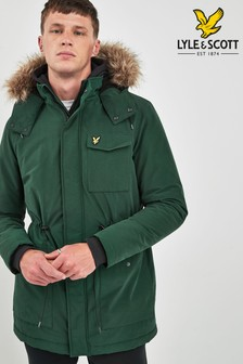 Lyle & Scott Microfleece Lined Parka