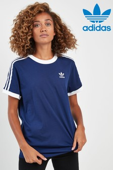 355a8f055e Adidas Originals Tops & T Shirts | Womens Stripe Tees | Next UK