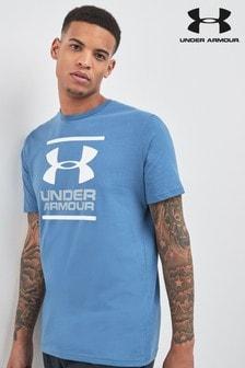 Under Armour Blue Logo Tee