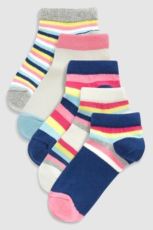Stripe Socks Five Pack (Older)