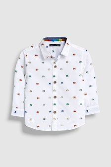 Car All Over Print Shirt (3mths-7yrs)