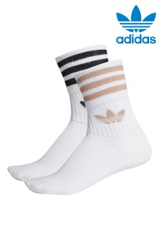 adidas Originals Mid Cut Glitter Socks