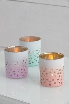 Set of 3 Tea Light Holders
